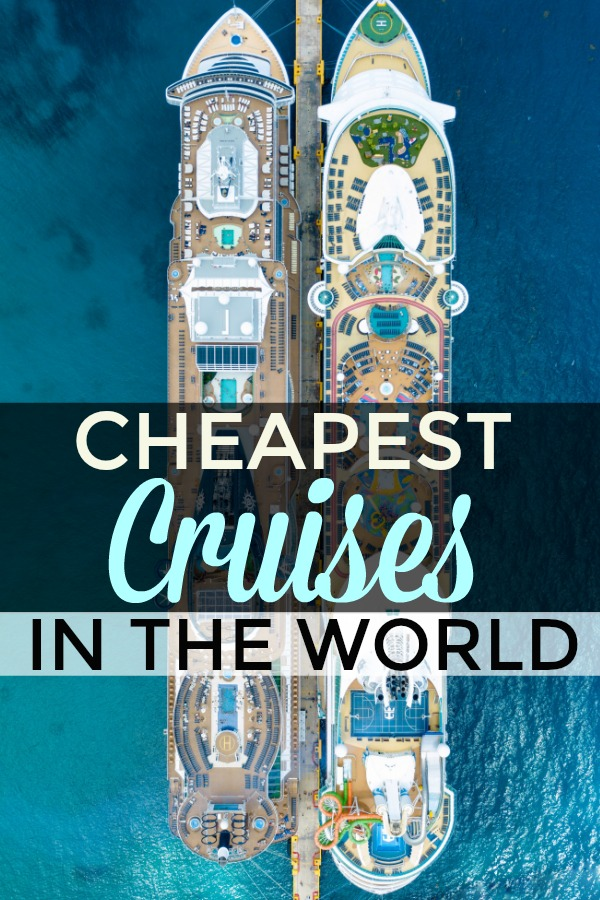 Cheapest Cruises in the WORLD you can book now