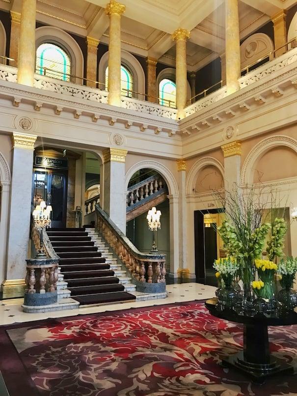 Grosvenor Hotel the main lobby