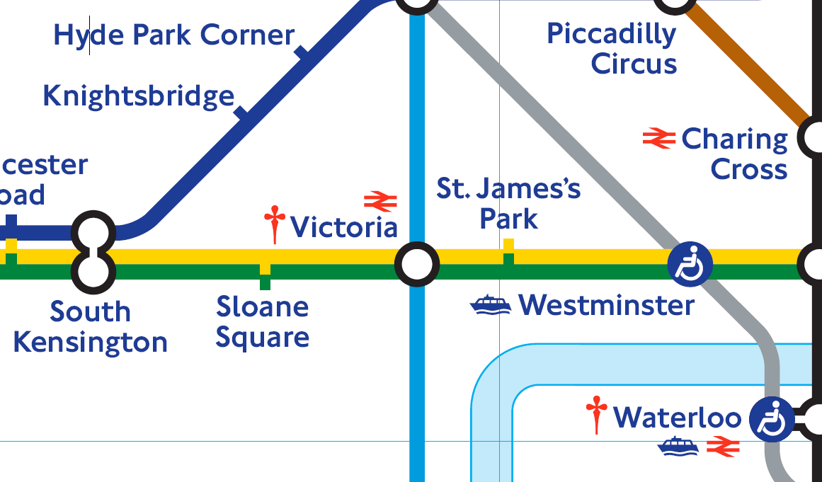 Victoria London Map.London Victoria Tube Map Travel Off Path