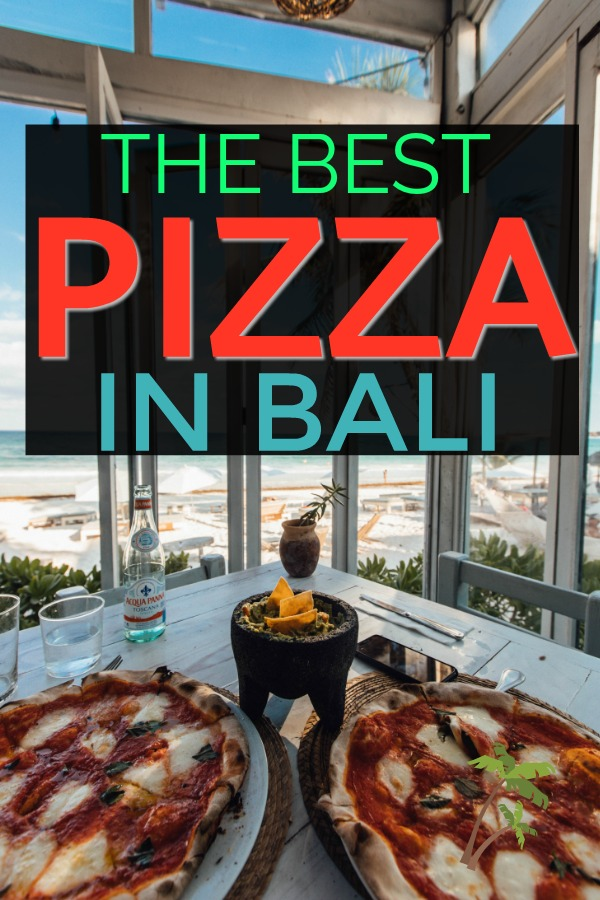 How to get pizza delivery in Bali