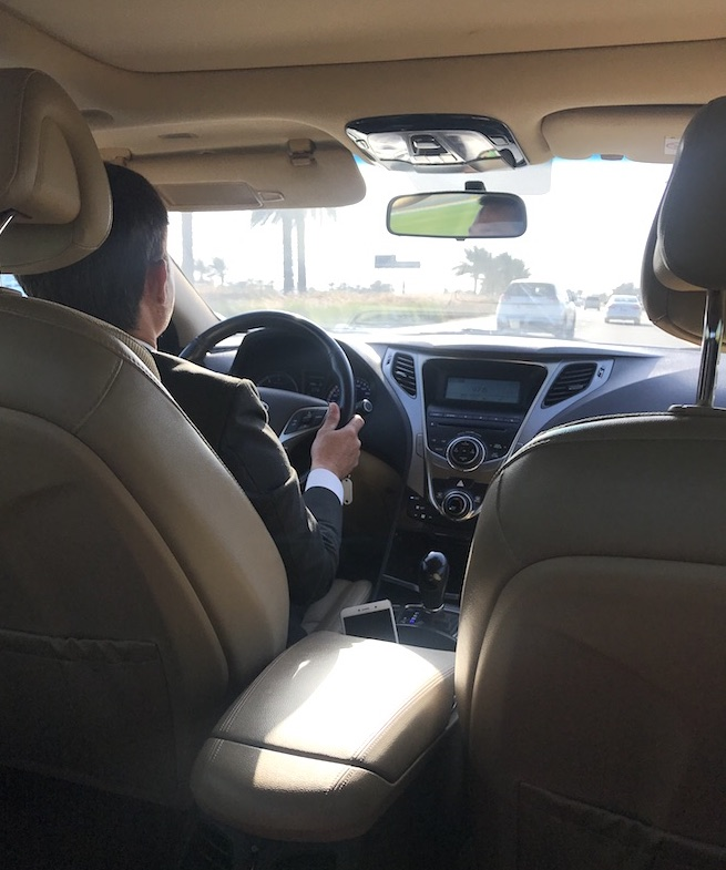 private driver doha