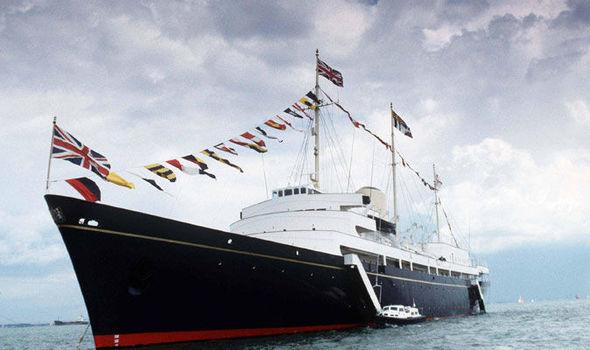 the royal yacht Britannia - things to do in edinburgh