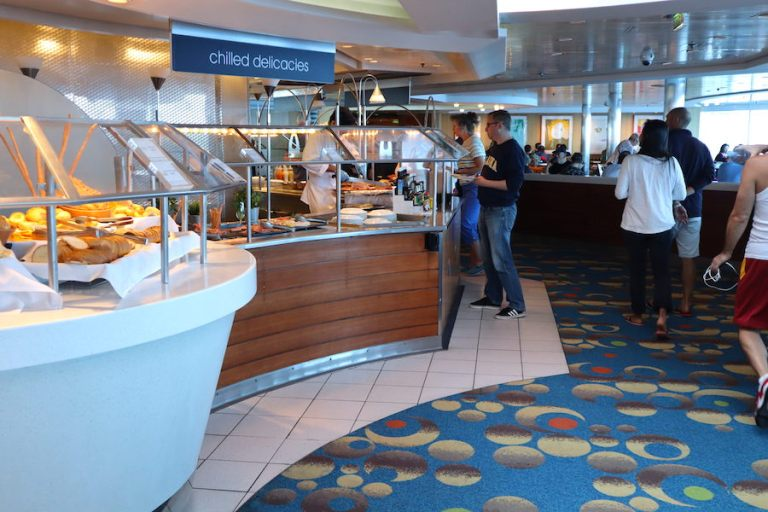 Oceanview Cafe - Buffet Dining on Celebrity Millennium Review