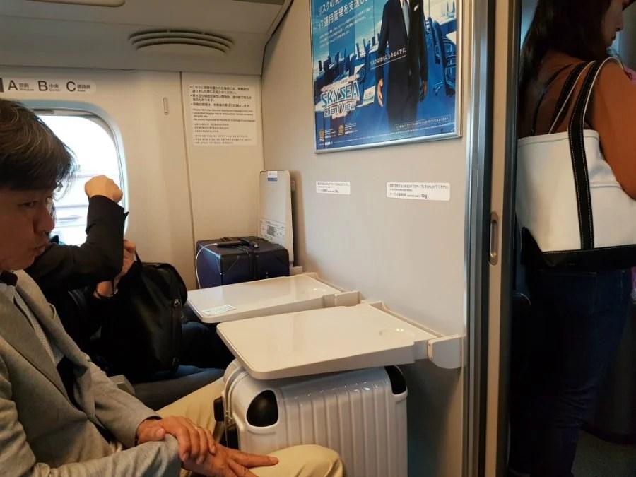 Can You Take Luggage on The Shinkansen Bullet Train 4