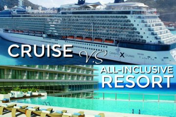 Cruise VS All Inclusive Resort