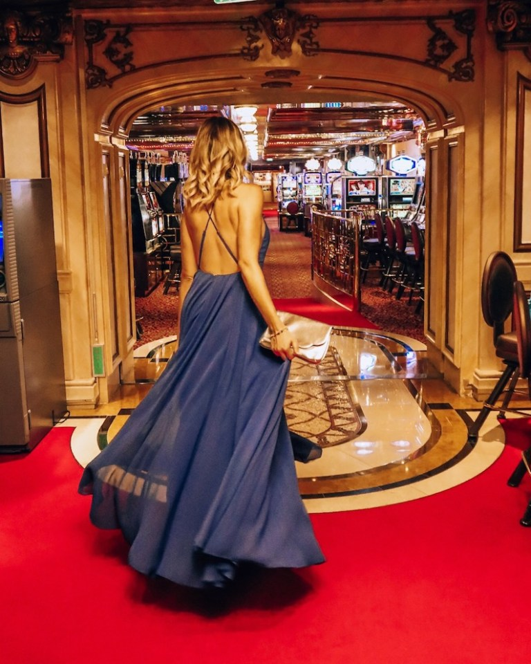 Evening chic on celebrity cruises Kashlee Kucheran