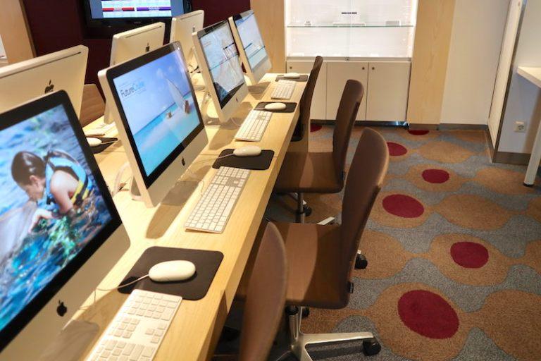 ilounge computers on celebrity millennium