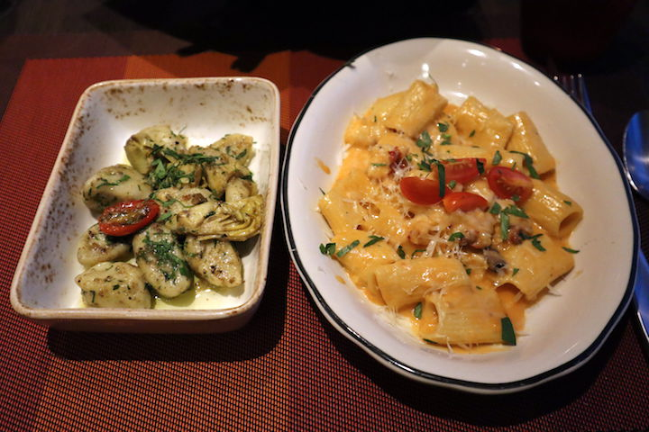 Pasta at Tuscan Grille on Celebrity Millennium