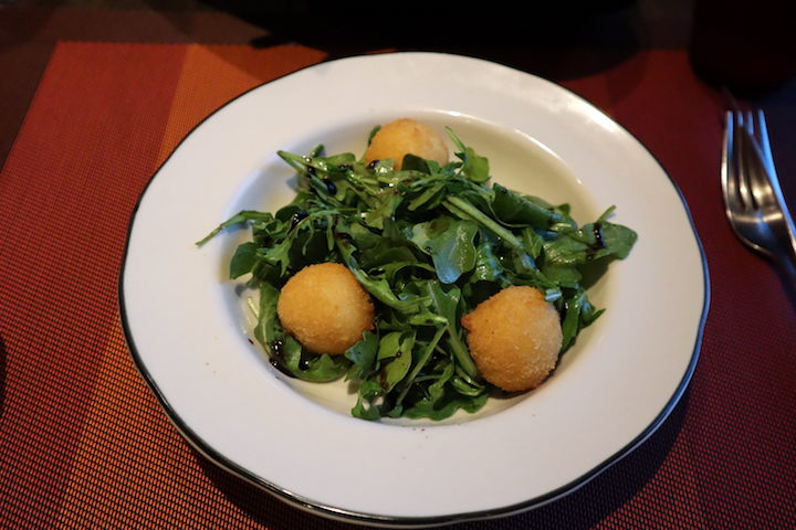arugula goat cheese salad Tuscan Grille on Celebrity Millennium