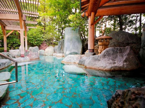 Onsen at the Green Hotel Takayama -gifu