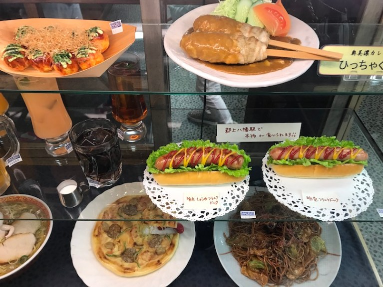 Sample kobo food replica in gifu japan