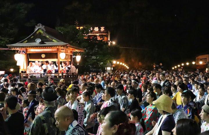 gujo odori festival japan