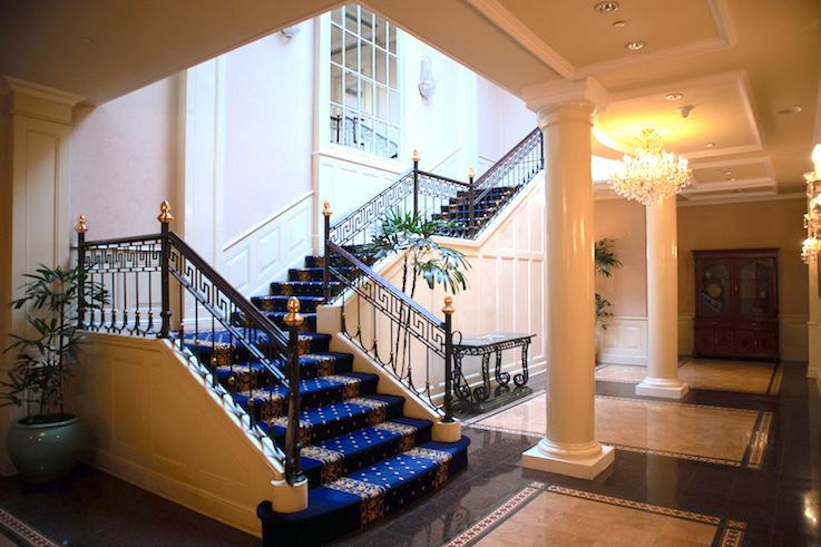 Stairwell Presidential Suite Surabaya Majapahit Hotel