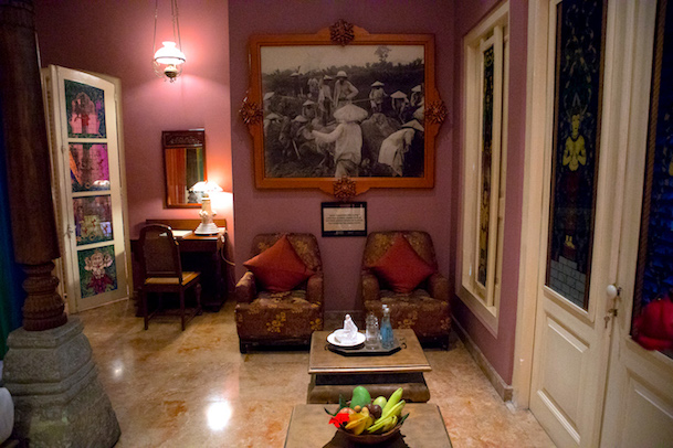 bedroom in the apsara suite tugu malang