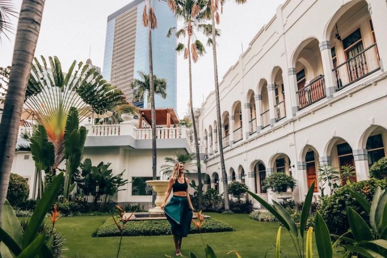 View from the Majapahit Hotel Surabaya