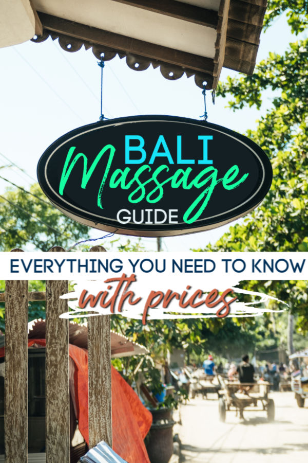 bali massage - 2019 guide on where to get a massage and bali massage prices