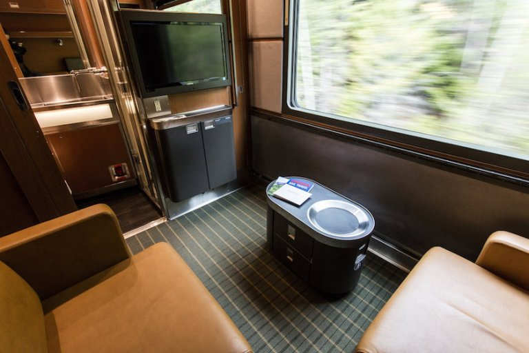 via rail prestige class luxury train travel across canada