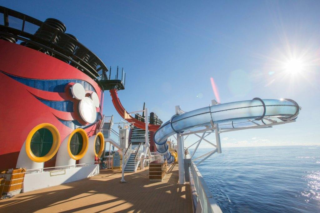 Disney Cruises top deck
