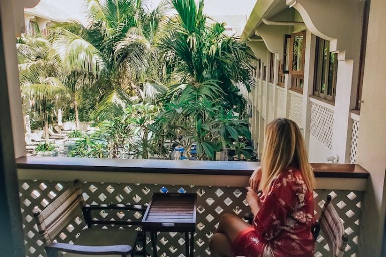 Kashlee Kucheran at Almanity resort Hoi An