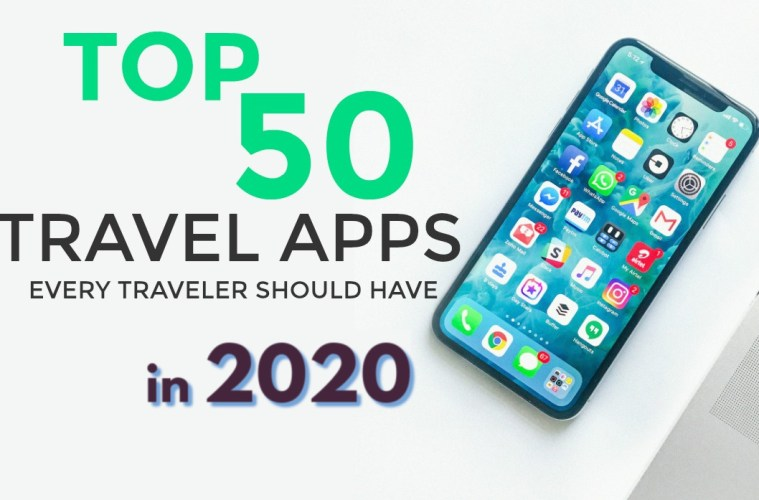 top travel apps 2020