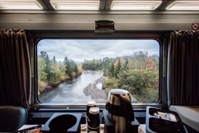 VIA rail train coast to coast is cheaper than flying