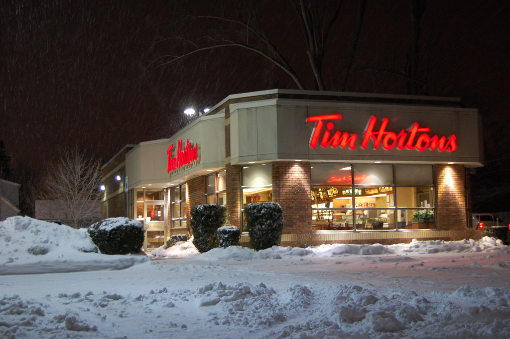 passengers stranded 14 hours brought timmies