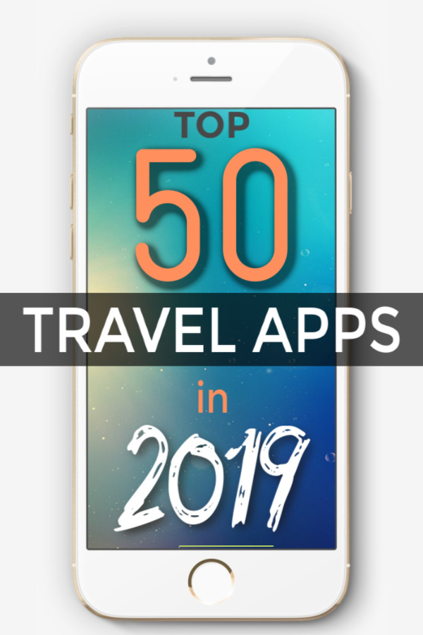 top 50 travel apps in 2019