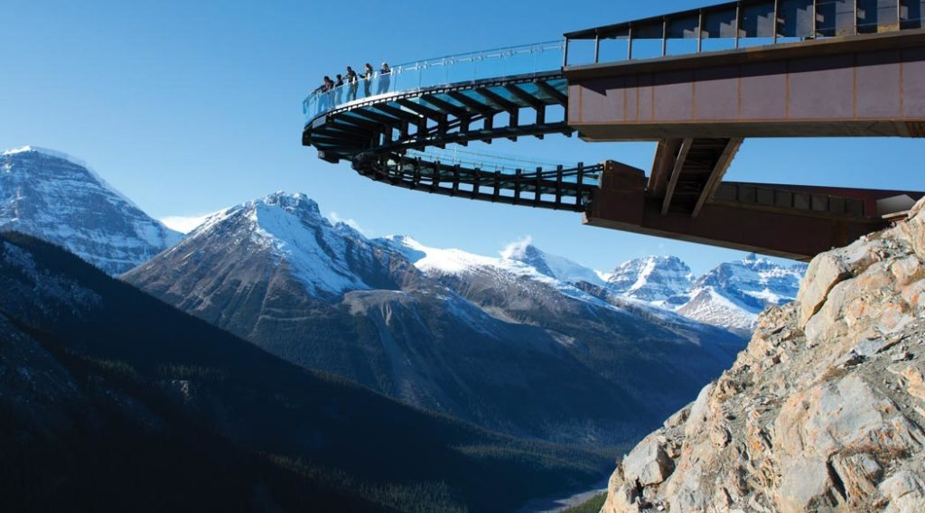 glacier skywalk canada top 5 glass bridges in the world