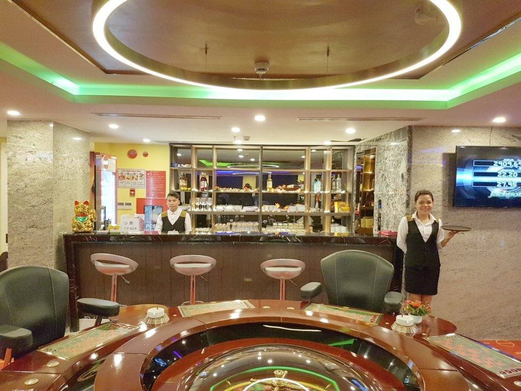 Bar at the Hoi An Casino