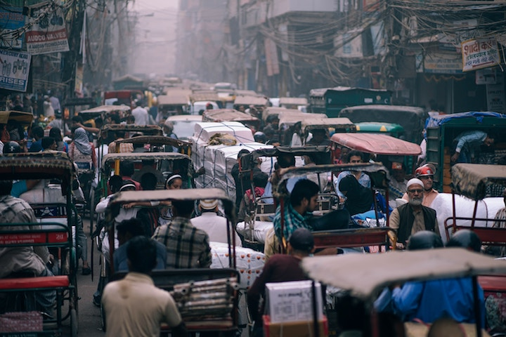 Con of being an expat in india - bad traffic