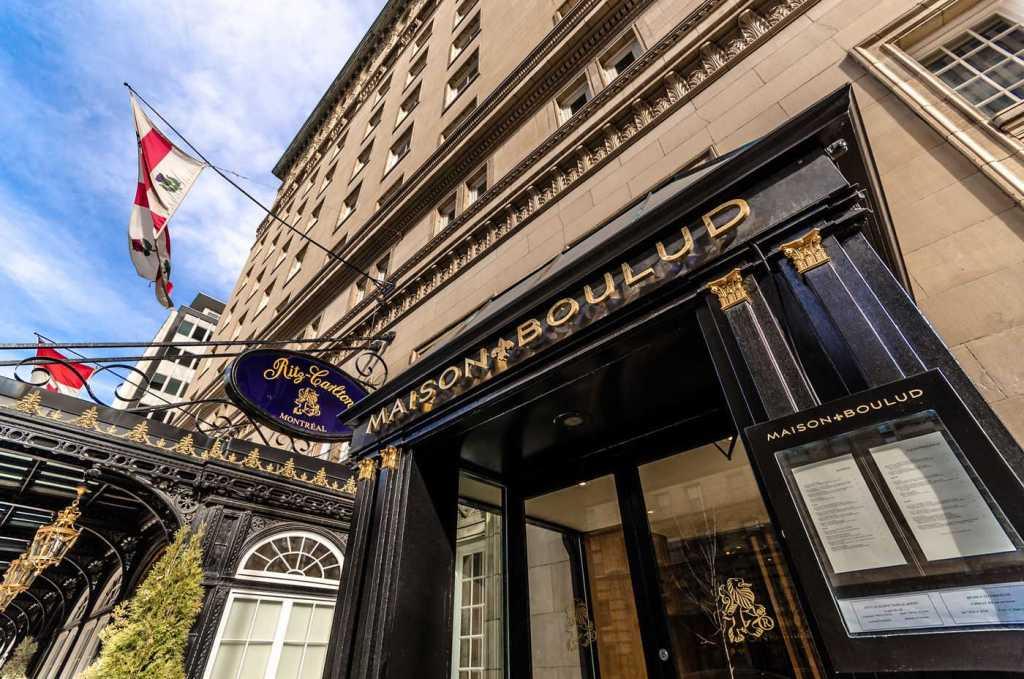Ritz Carlton Montreal Outside