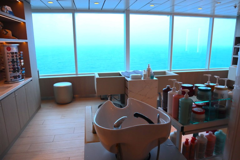 Hair salon and blow dry bar on the newly renovated celebrity millennium