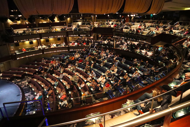 Theatre on the Celebrity Millennium 2019