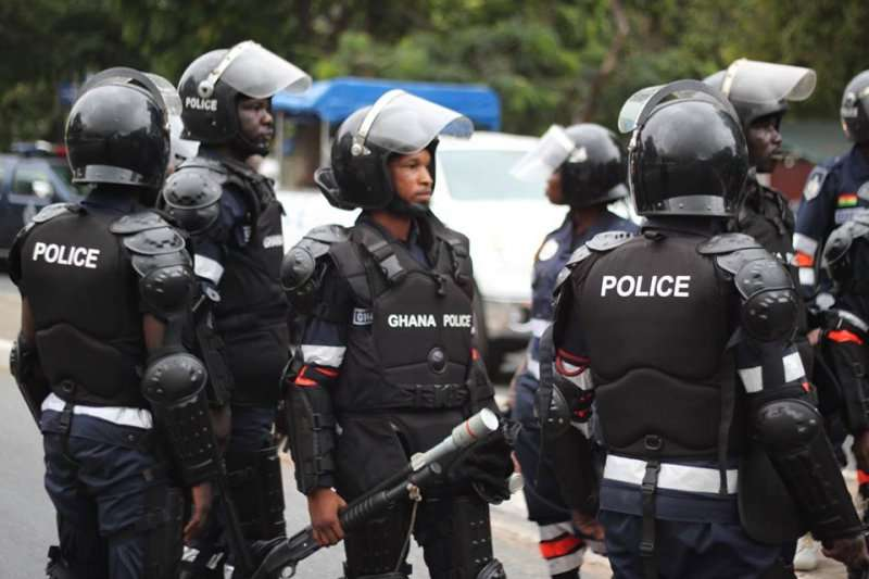 Ghana Police Rescue Canadian Girls that were kidnapped