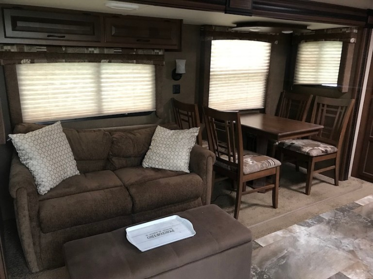 RV before re-decoration
