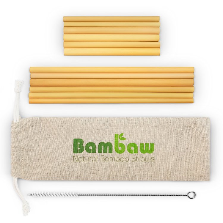 responsible travel for women - bamboo straws