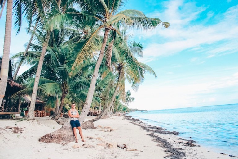 The beaches of Siquijor island