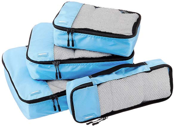packing cubes are a must have travel accessory for women