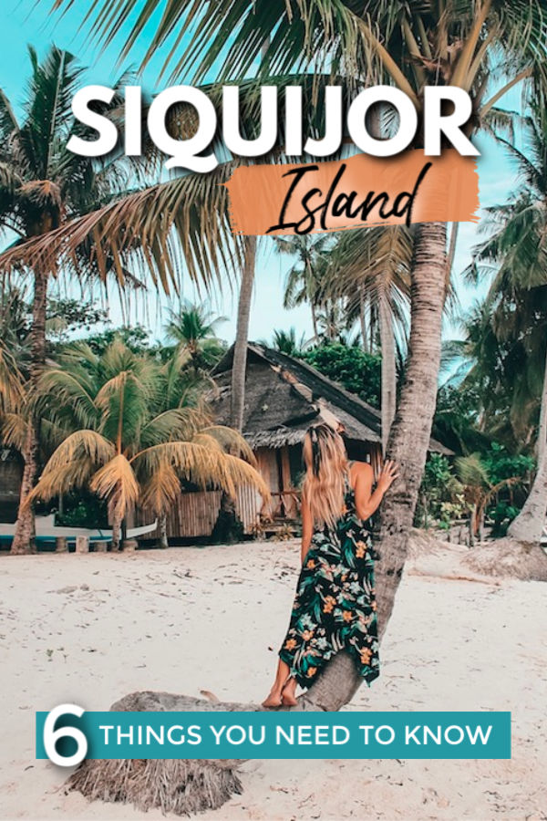6 THINGS you need to know before you go to Siquijor Island