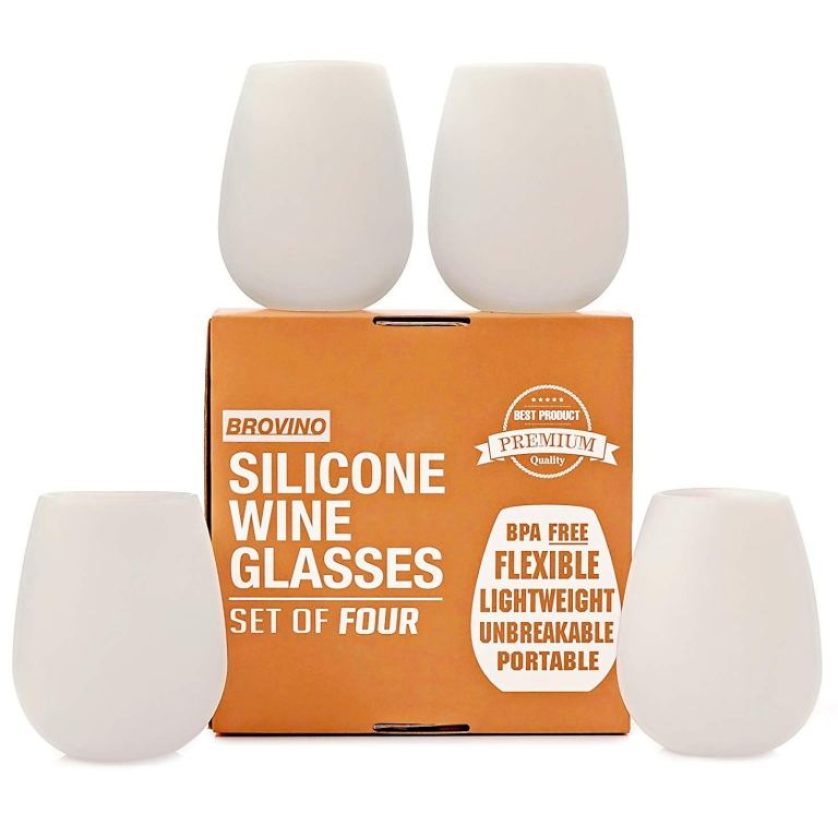 silicone wine glasses for women who travel