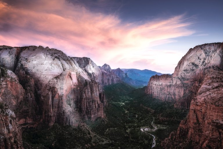 zion park - day trips from Vegas