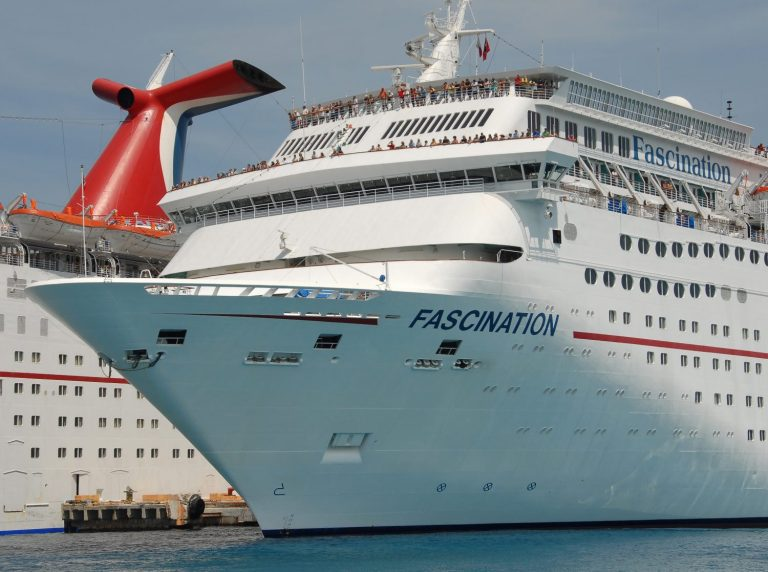Carnival Cruise Ship Passenger In Wheelchair saved