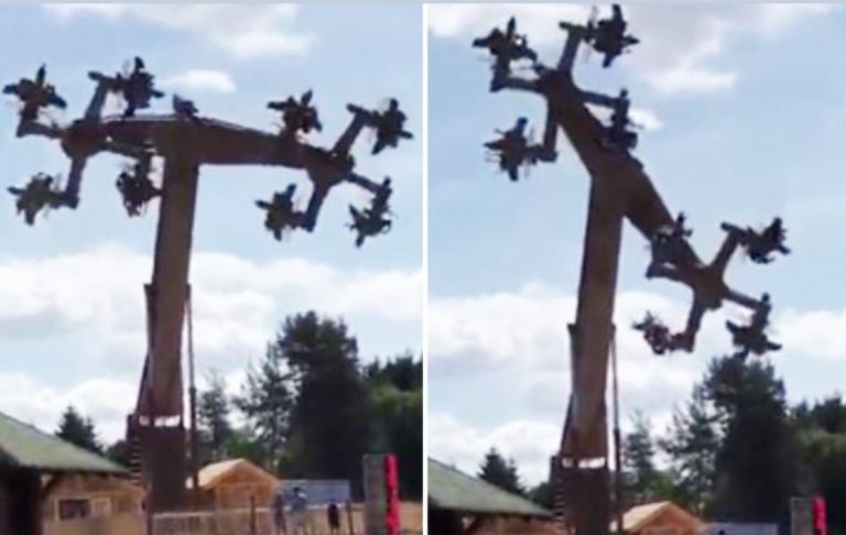 German Swastika Ride Shut Down