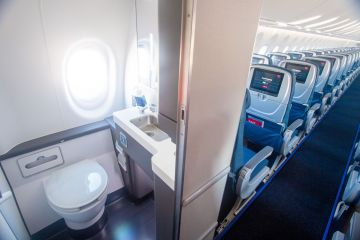 Man Arrested For Installing Hidden Camera In Plane Toilet
