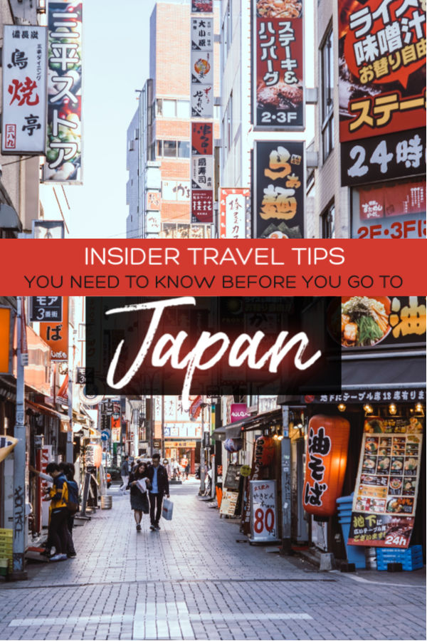 Insider travel tips you need to know before you to go Japan