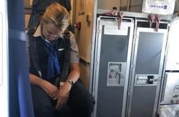 Flight Attendant Drunk on Plane