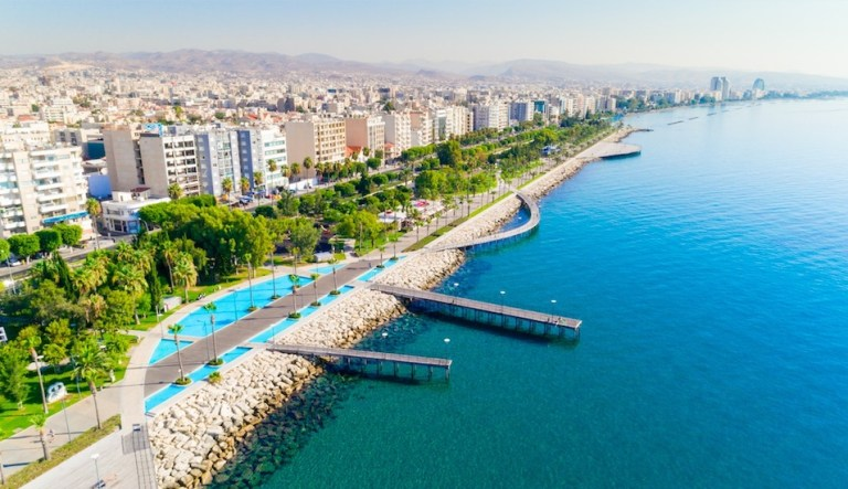 Limassol Cyprus is warm during winter