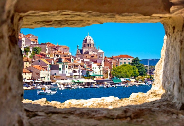 Visit sibenik in the winter for mild climate