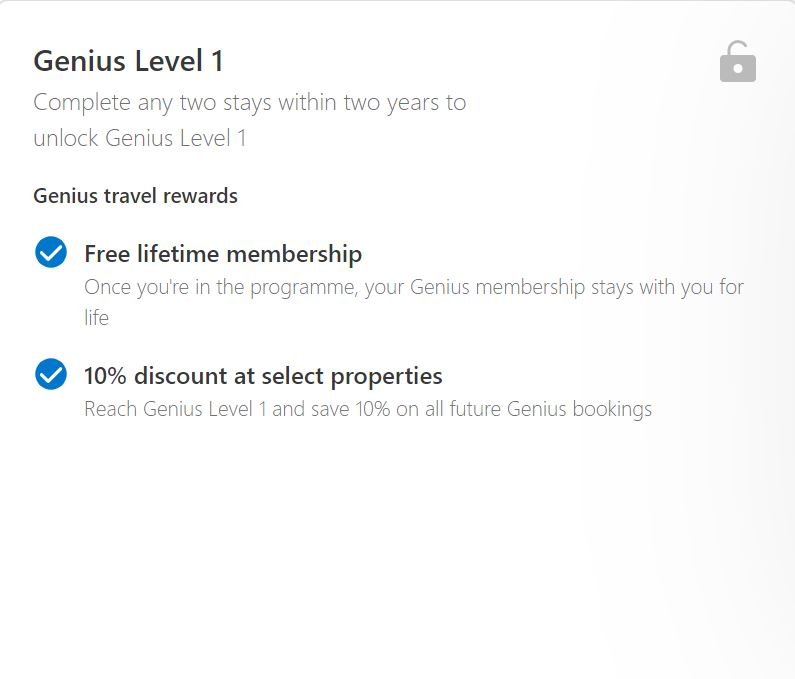 Genius level one rewards