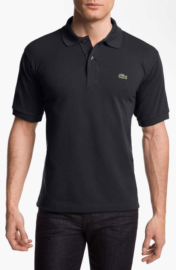 travel gift ideas for him - black collared shirt